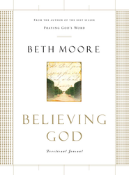 Believing God Devotional Journal - eBook  -     By: Beth Moore