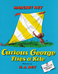Curious George Flies a Kite    Hardcover  -     By: Margret Rey, H.A. Rey