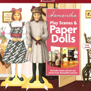 Samantha Play Scenes & Paper Dolls  -              By: Peg Ross