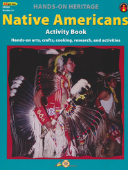Hands-On Heritage Native Americans Activity Book   -     By: Mary Jo Keller     Illustrated By: Barb Lorseyedi