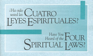 Have You Heard of the Four Spiritual Laws? Bilingual edition - Outreach Pack (case of 300 tracts)  -     By: Bill Bright