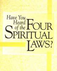Have You Heard of the Four Spiritual Laws?  Outreach Pack (case of 300 tracts)  -              By: Bill Bright