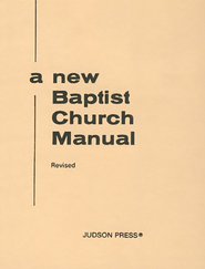 New Baptist Church Manual  -