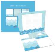 Ichthus Sticky Notes  -
