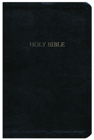 The A. W. Tozer Bible: KJV Version, Genuine leather, Black  -