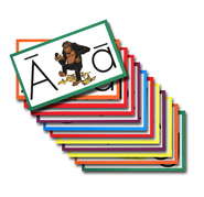 Individual ABC Flash Cards   -
