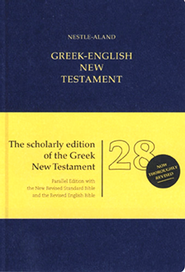 Novum Testamentum Graece, Nestle-Aland 28th Edition with NRSV/REB Greek-English New Testament  -