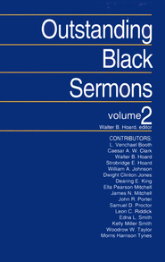 Outstanding Black Sermons Volume 2   -              By: Walter Hoard
