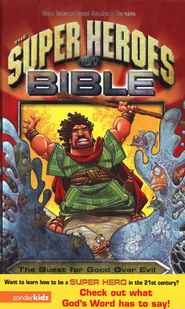 NIrV Super Heroes Bible Hardcover  -              By: Jean Syswerda