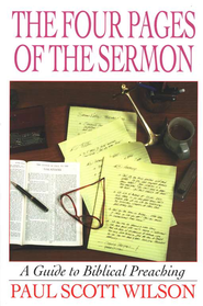 Four Pages Of The Sermon   -     By: Paul Scott Wilson