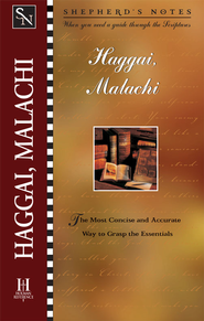 Shepherd's Notes on Haggai/Malachi - eBook   -