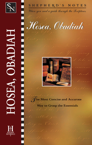 Shepherd's Notes on Hosea/Obadiah - eBook   -