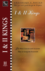 Shepherd's Notes on 1,2 Kings - eBook   -     Edited By: David R. Shepherd     By: Paul Wright