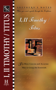 Shepherd's Notes on 1,2 Timothy/Titus - eBook   -
