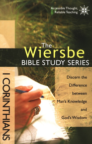 1 Corinthians: The Wiersbe Bible Study Series   -              By: Warren W. Wiersbe
