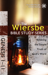 Genesis 1-11: The Wiersbe Bible Study Series   -              By: Warren W. Wiersbe