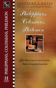 Shepherd's Notes on Philippians, Colossians & Philemon - eBook  -