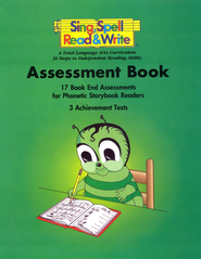 Sing, Spell, Read, and Write Assessment Book   -