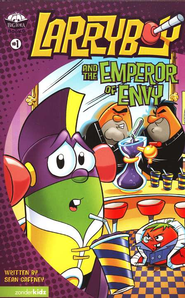 Larryboy and the Emperor of Envy, Larryboy Books #1   -     By: Sean Gaffney