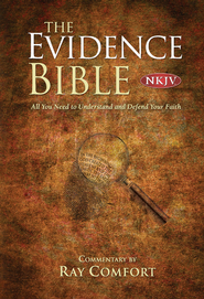 NKJV Evidence Bible, Hardcover  -     By: Ray Comfort