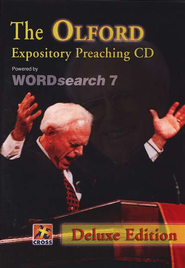 Olford Expository Preaching CD: Deluxe Edition - Powered by WORDsearch 7  -     By: Stephen F. Olford