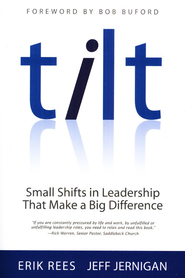 Tilt: Small Shifts in Leadership That Make a Big Difference  -              By: Erik Rees