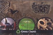 Burst - Green Church: Topics for Today's Teens - Student Booklets (Package of 5)  -              By: Tim Gossett