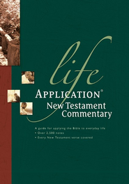 Life Application New Testament Commentary   -              Edited By: Bruce Barton                   By: Bruce Barton, ed.