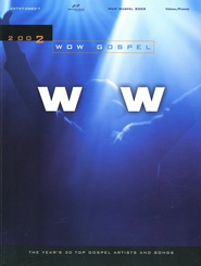WOW Gospel 2002, Songbook   -