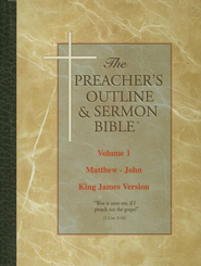 The Preacher's Outline & Sermon Bible New Testament Library: 3 Volume KJV Edition  -