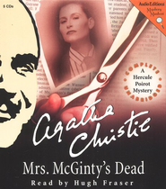 Mrs. Mcginty's Dead Audiobook on CD  -     Narrated By: Hugh Fraser     By: Agatha Christie