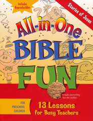 All-in-One Bible Fun: Stories of Jesus (Preschool edition)  -