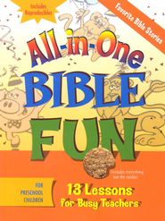 All-in-One Bible Fun: Stories of the Bible (Preschool edition)  -