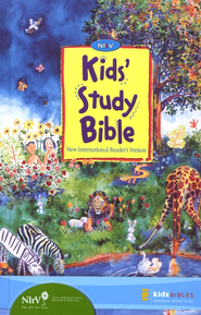 NIrV Kids' Study Bible Revised, hardcover  -