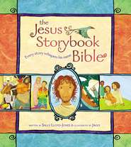 The Jesus Storybook Bible: Every Story Whispers His Name   -     By: Sally Lloyd-Jones