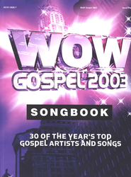 WOW Gospel 2003, Songbook   -