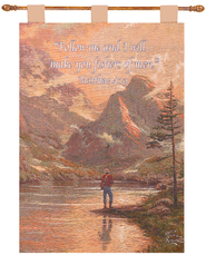 Almost Heaven Wallhanging  -              By: Thomas Kinkade