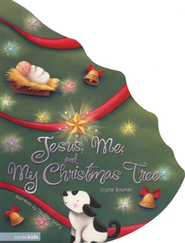 Jesus, Me, and My Christmas Tree, Large Board Book   -              By: Crystal Bowman