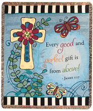 Gifts From Above Throw  -