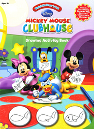 Mickey Mouse Clubhouse Drawing Activity Book   -