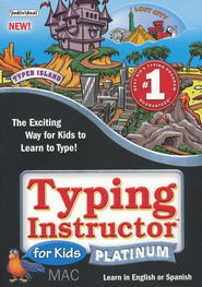 Typing Instructor for Kids Platinum Edition CD-Rom for Macintosh  -
