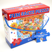 Fun Facts Puzzle, U.S.A.    -