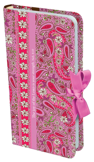 The Joy of the Lord Notebook with Ribbon Closure  -