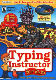 Typing Instructor for Kids 4 on CD-ROM   -