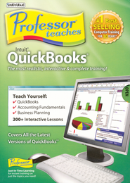 Professor Teaches QuickBooks 2010 & 2009 CD-Rom   -