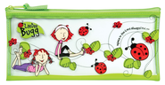 LaeDee Bugg Pencil Case, Green  -