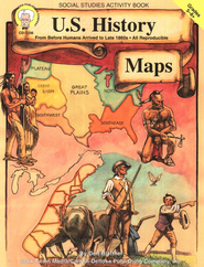 U.S. History Maps Grades 5-8+  -     By: Don Blattner