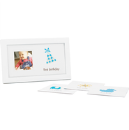 First Year Baby Boy Frame  -