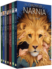 The Chronicles of Narnia, Boxed Set Digest Tradepaper   -              By: C.S. Lewis                   Illustrated By: Pauline Baynes
