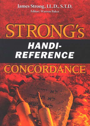 Strong's Mity Mite Concordance  -     By: James Strong, Warren Baker